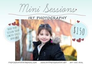 Mini Sessions Light Template